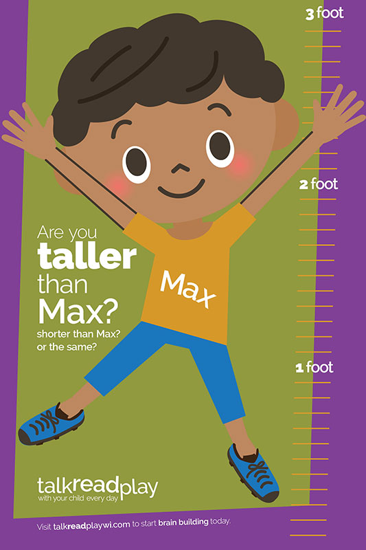 Talk Read Play Growth Chart